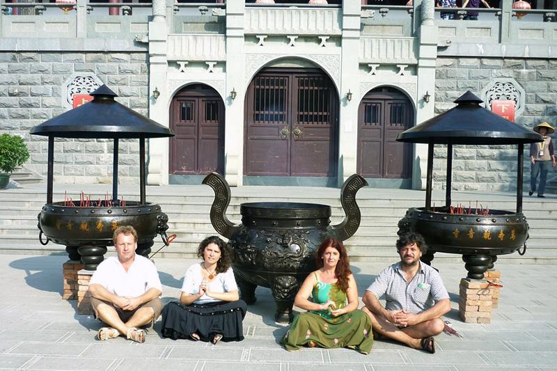 Kínai és tajvani turné a Madárdal zenekarral